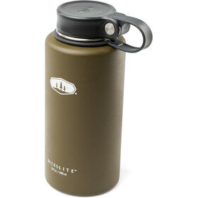 GSI Microlite Twist Vacuum Bottle olive